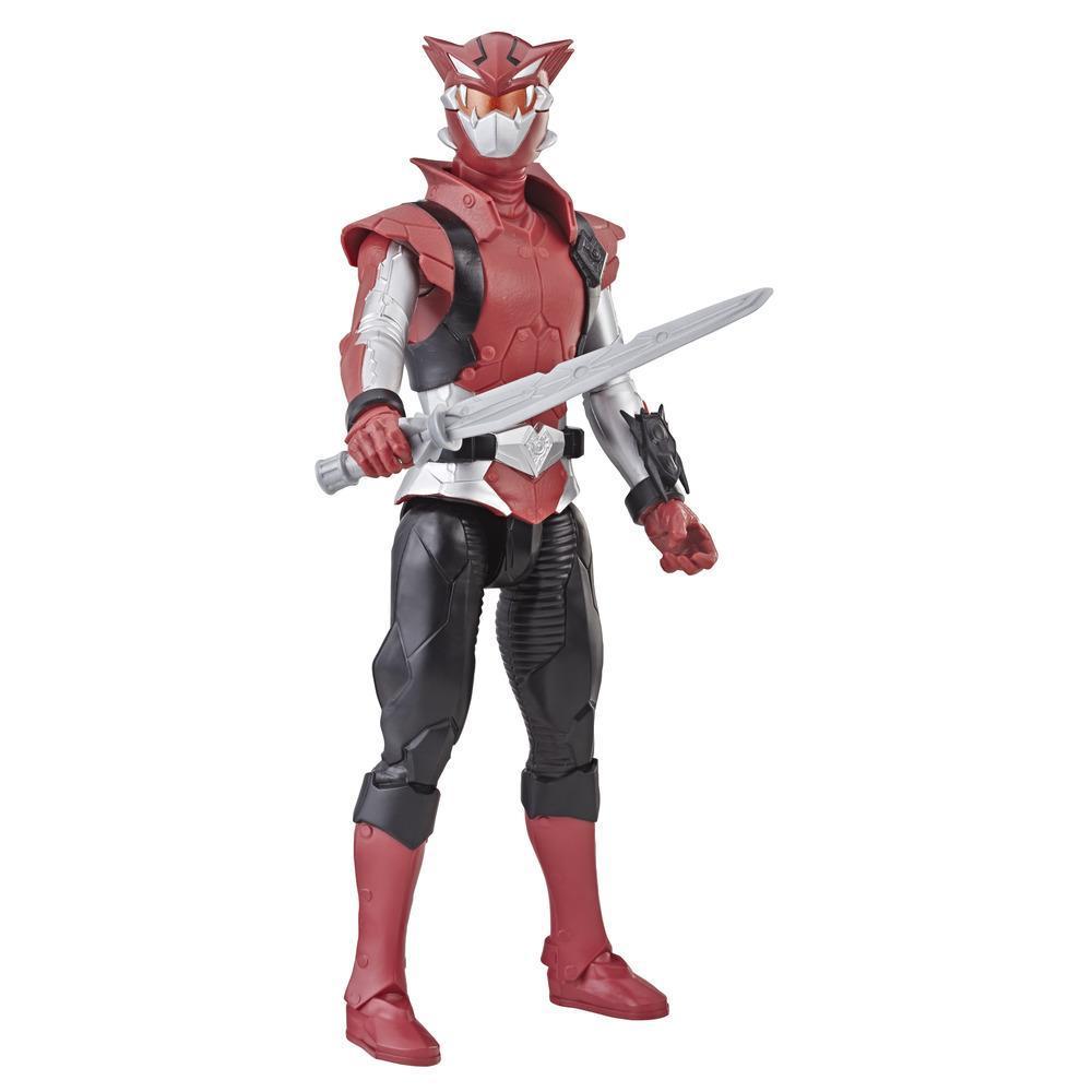 Power Rangers Beast Morphers - Figura de acción de juguete de 30 cm de Cybervillain Blaze