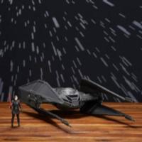 Star Wars Force Link - TIE Silencer de Kylo Ren y figura de Kylo Ren (Piloto TIE)