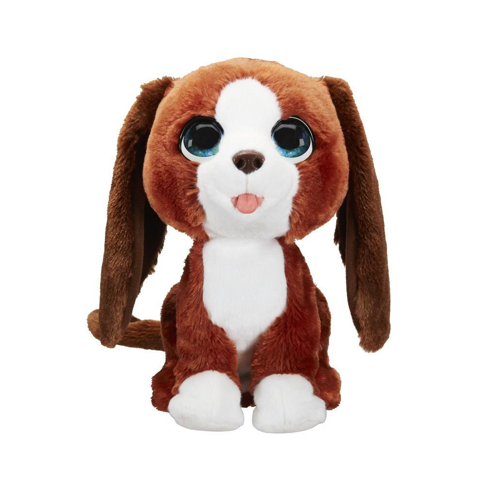 furReal Howie aullador - Mascota de peluche interactiva, más de 25 combinaciones de sonidos y movimientos, para niños de 4 años en adelante