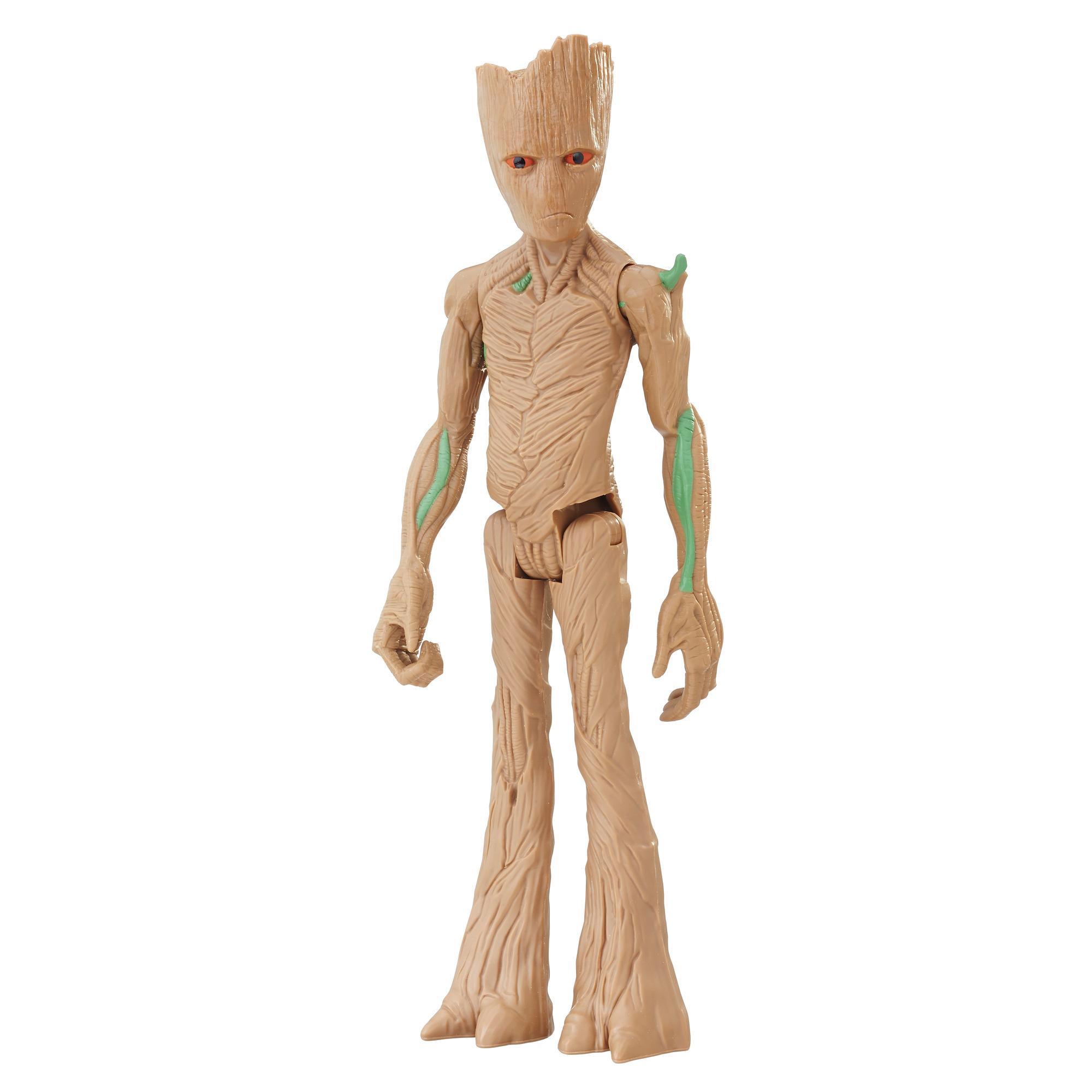 Marvel Infinity War Titan Hero Series - Groot con puerto para Titan Hero Power FX