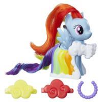 My Little Pony Moda de pasarela - Juego con figura de Rainbow Dash