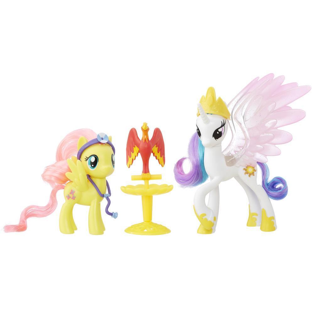 My Little Pony Empaque de amistad - Princesa Celestia y Fluttershy