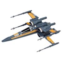 Star Wars: The Last Jedi - caza estelar X-wing con dispositivo de aceleración de Poe Dameron