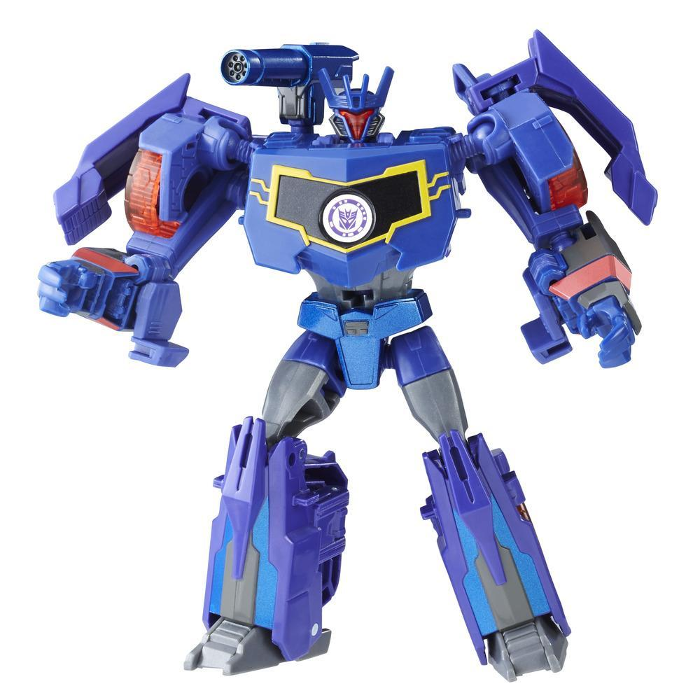 Transformers Robots in Disguise Clase Guerreros - Soundwave