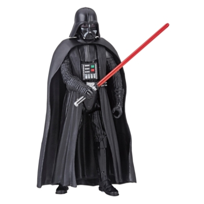 Star Wars Galaxy of Adventures - Figura de Darth Vader y minihistorieta