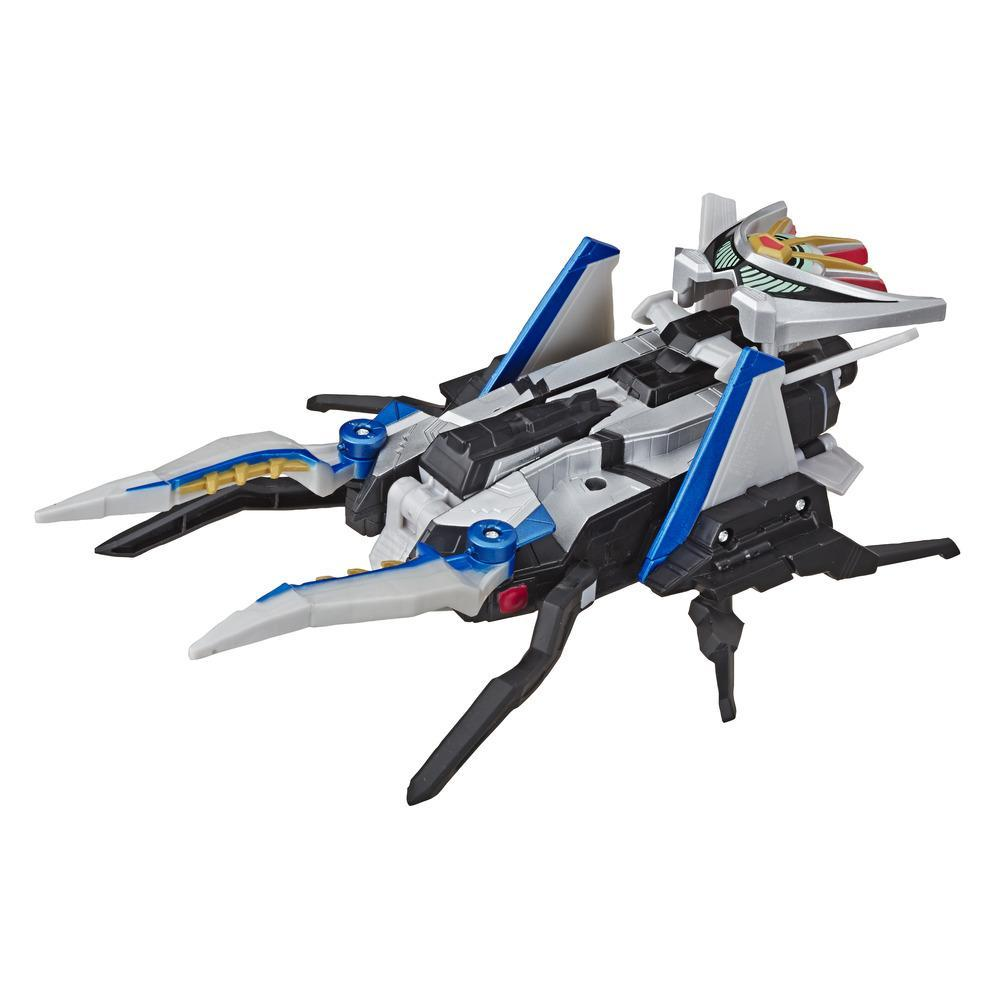 Power Rangers Beast Morphers - Zord convertible Bestia-Jet- Figura de acción Power Rangers de la serie de TV Power Rangers