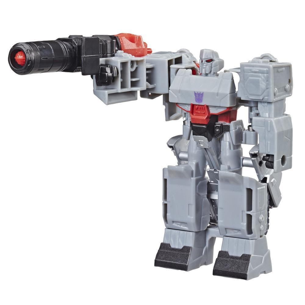 Transformers Cyberverse Action Attackers - Megatron Cambiador de 1 paso - Figura de acción