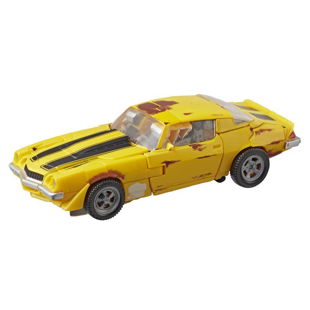Transformers Studio Series 27 - Figura de acción clase de lujo de Bumblebee cacharro de Transformers película 1