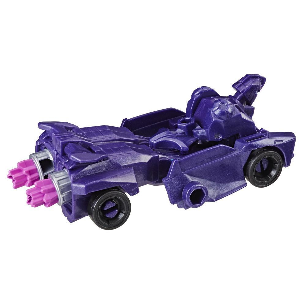 Transformers Cyberverse Action Attackers - Shadow Striker clase explorador - Figura de acción