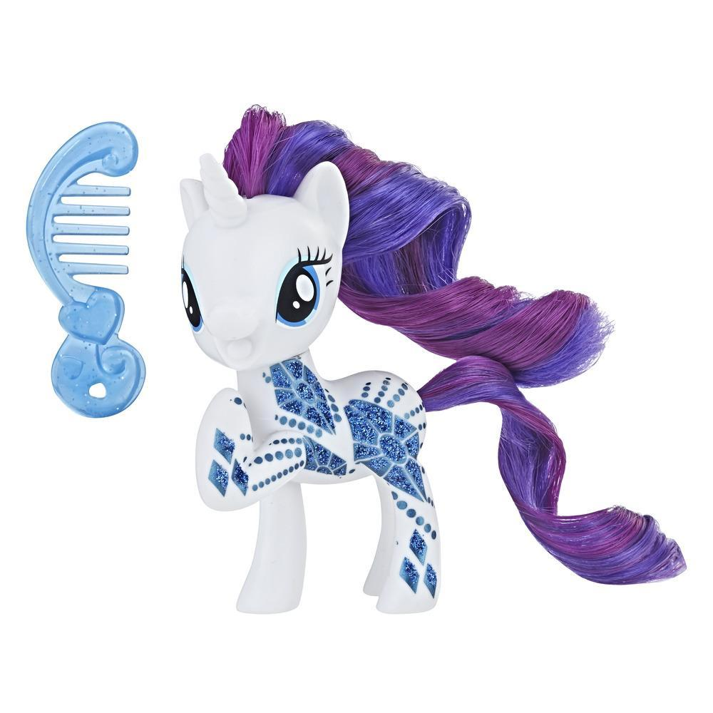 My Little Pony Rarity con diseño brillante