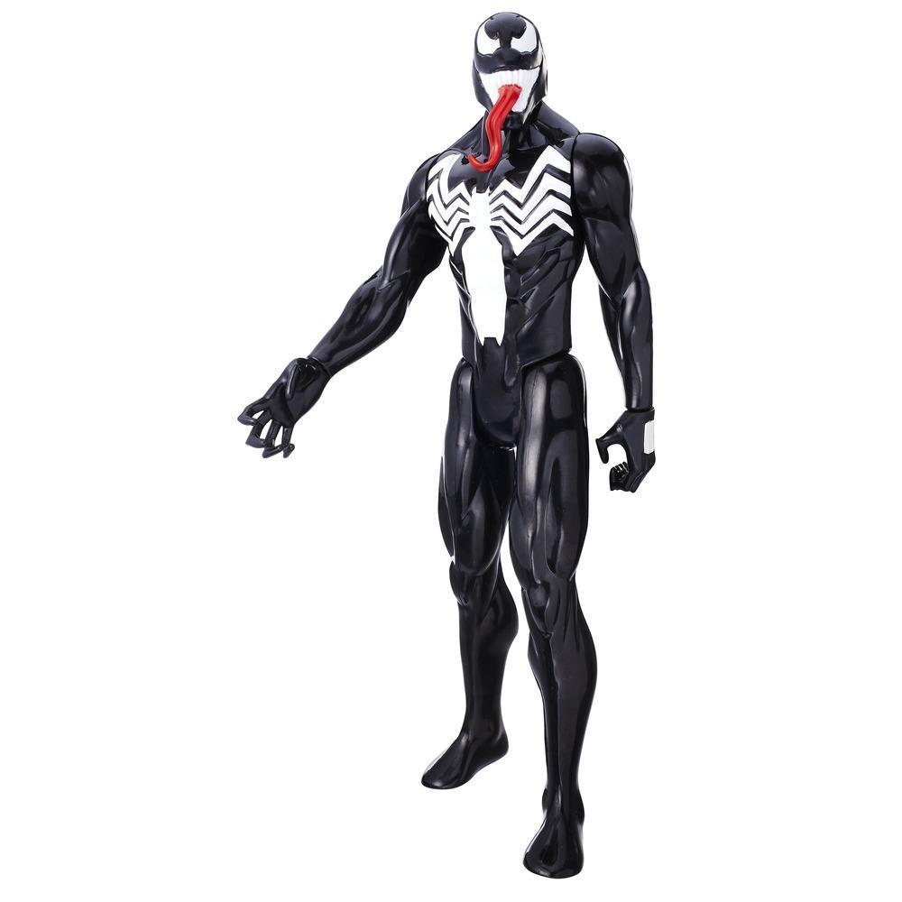 Marvel Spider-Man - Titan Hero Series - Villanos - Figura de Venom