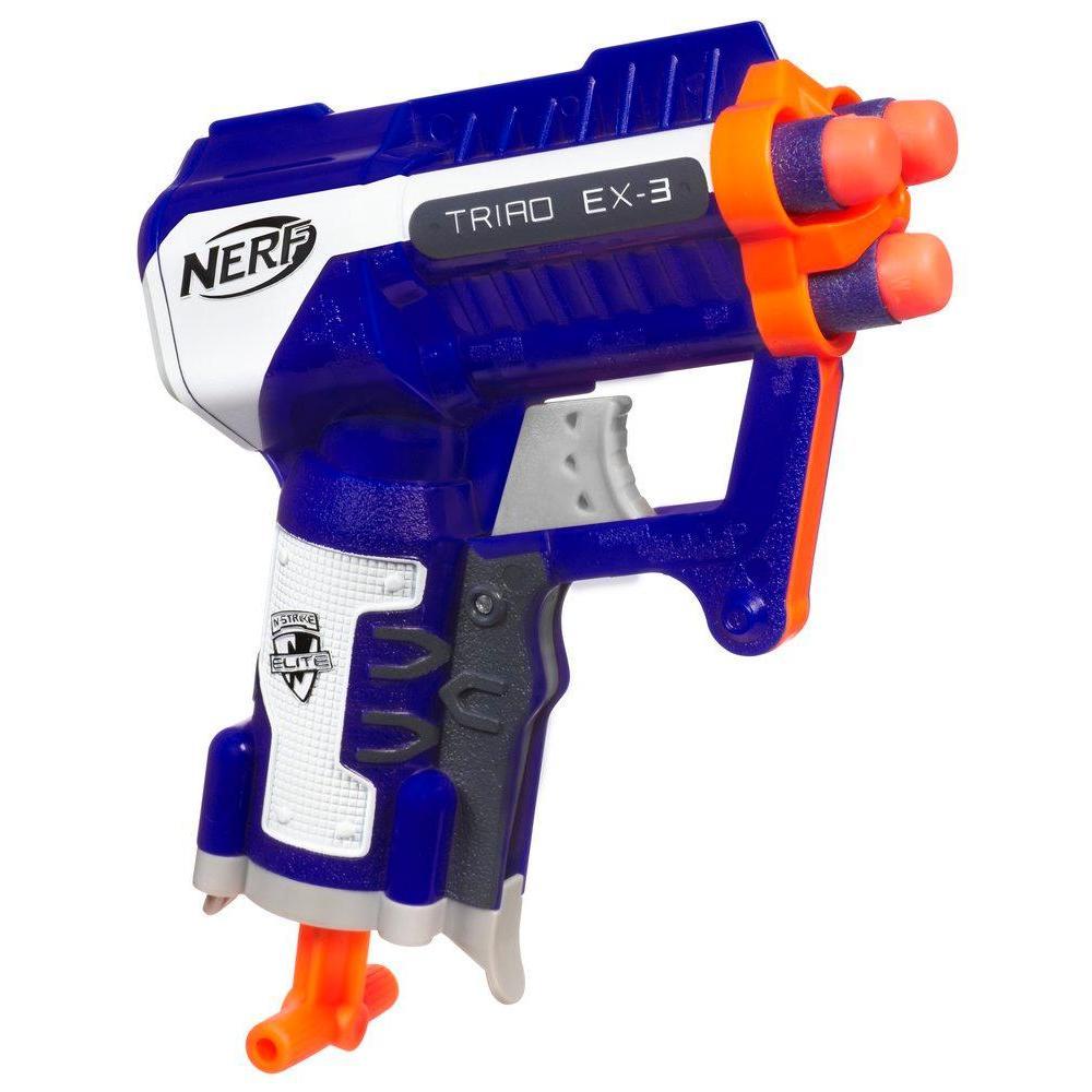 Lanzador NERF N-STRIKE ELITE TRIAD EX-3