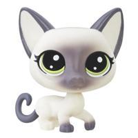 Littlest Pet Shop Mascota individual (Gato siamés)