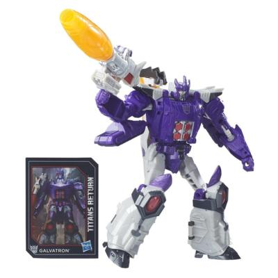 Transformers Generations Titans Return - Nucleon y Galvatron