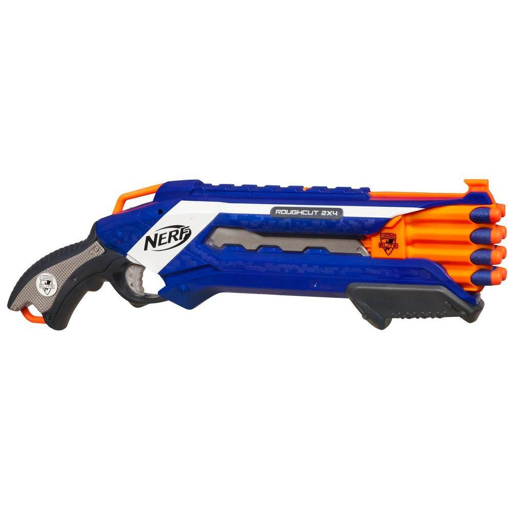 Lanzador NERF N-STRIKE ELITE ROUGH CUT 2X4