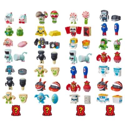 Transformers Toys BotBots Serie 2 - Empaque de 8 figuras Swag Stylers - ¡Figuras coleccionables! Para niños de 5 años en adelante (los estilos y colores pueden variar) de Hasbro. Product