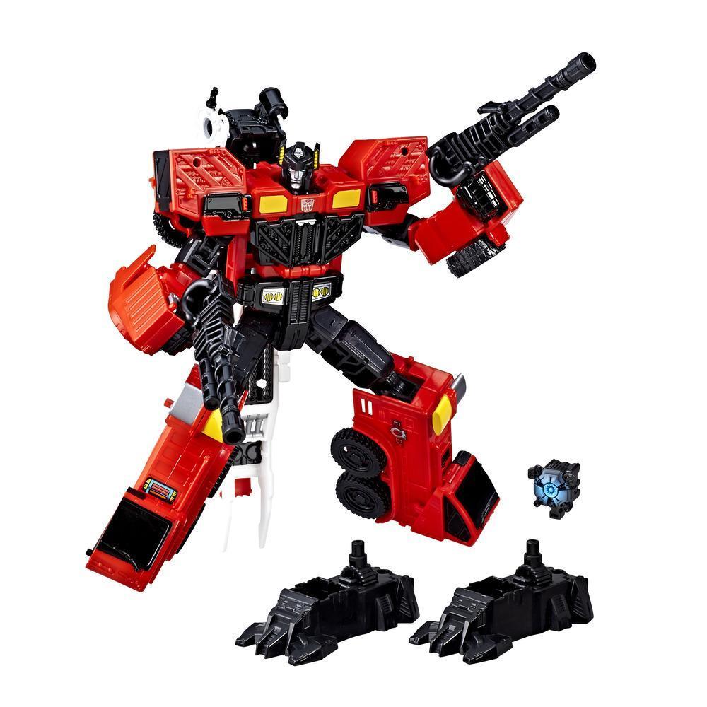 Transformers Generations Poder de los Primes - Inferno clase viajero