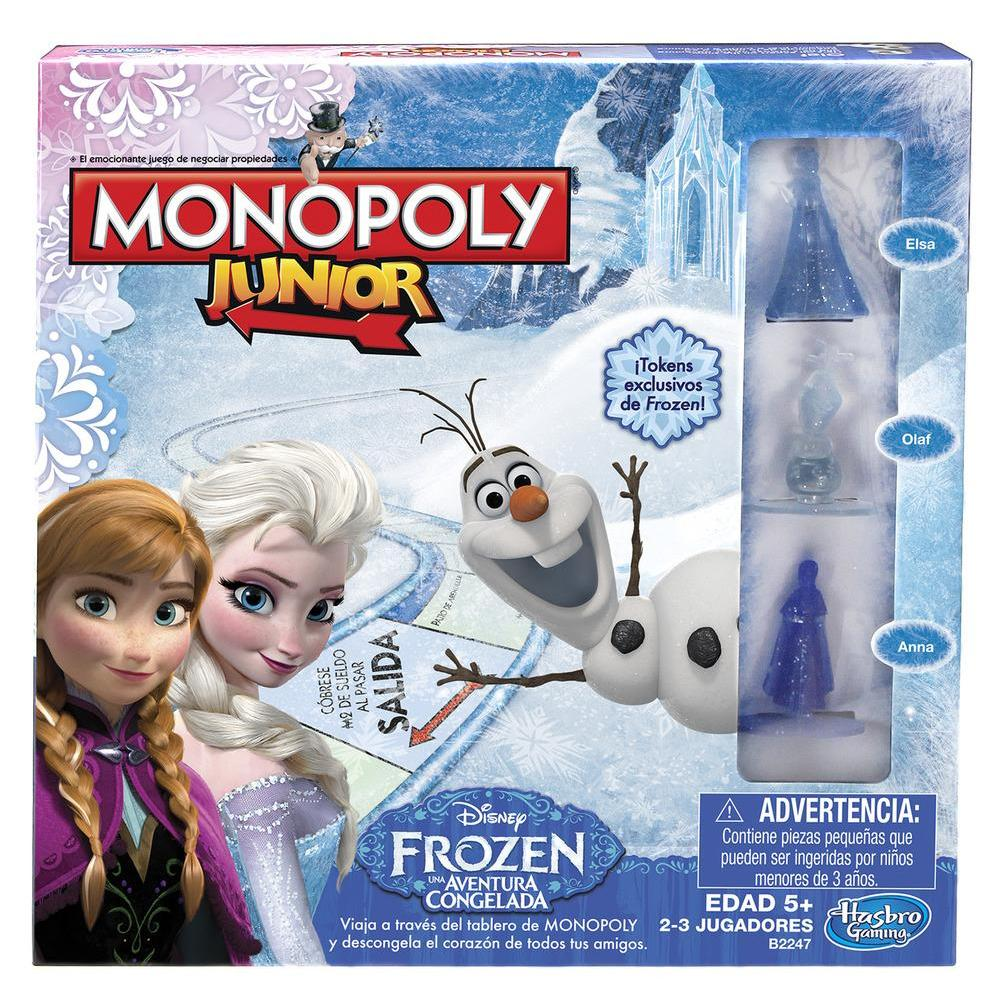 Monopoly Jr. Frozen