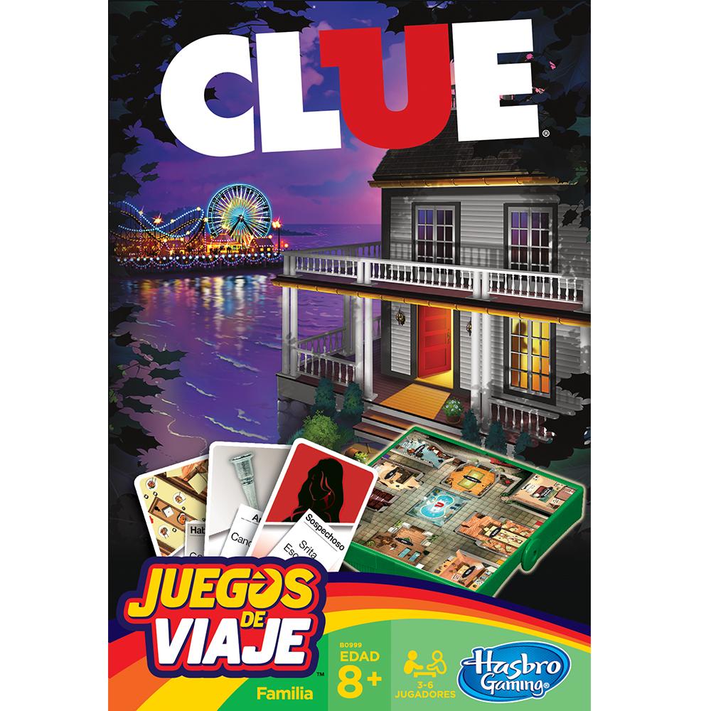 CLUE JUEGO DE VIAJE