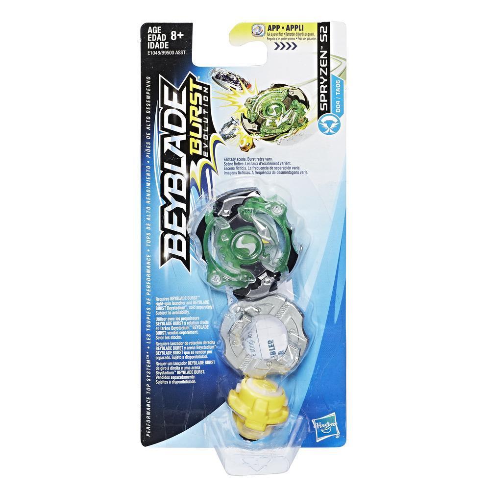 Beyblade Burst Evolution - Empaque de top individual - Spryzen S2