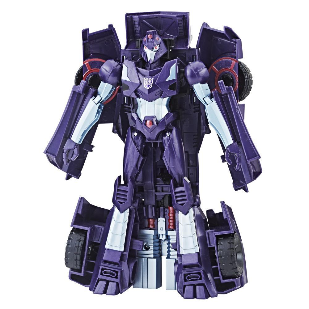 Transformers Cyberverse - Shadow Striker clase ultra