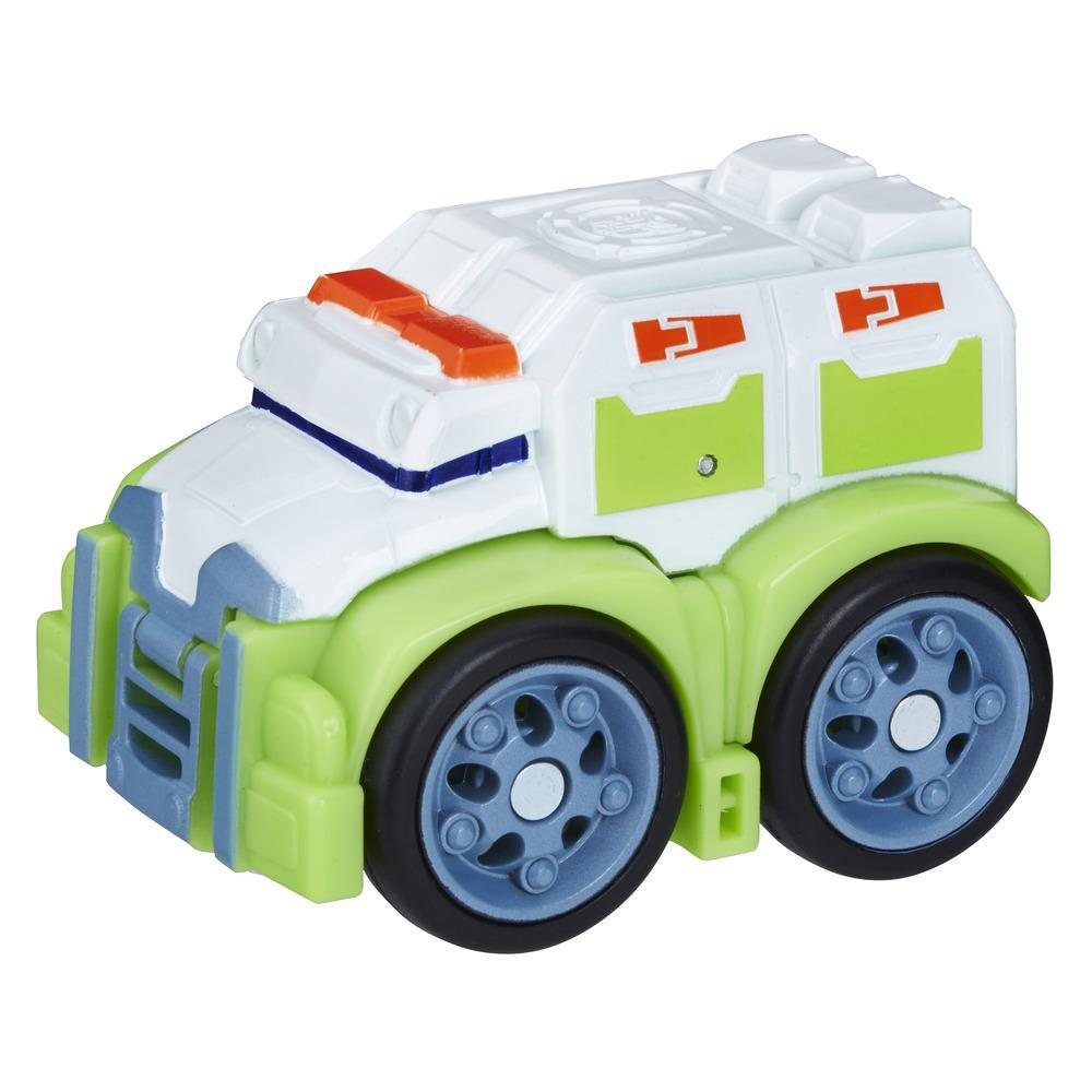 Playskool Heroes Transformers Rescue Bots Flip Racers - Medix el robot doctor