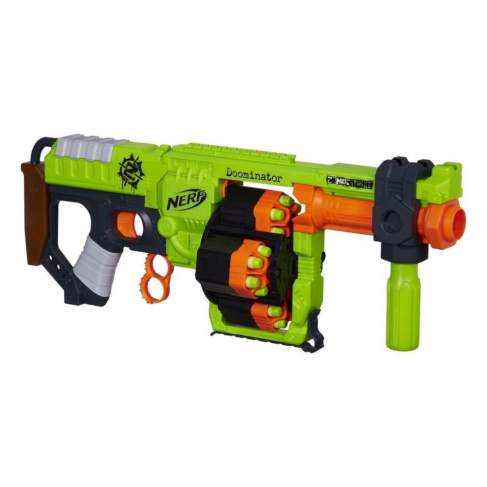 Nerf Zombie Huelga Doominator Blaster