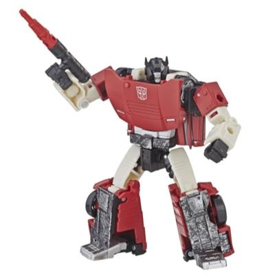 Transformers Generations War for Cybertron: Siege - Figura de acción WFC-S10 Sideswipe clase de lujo