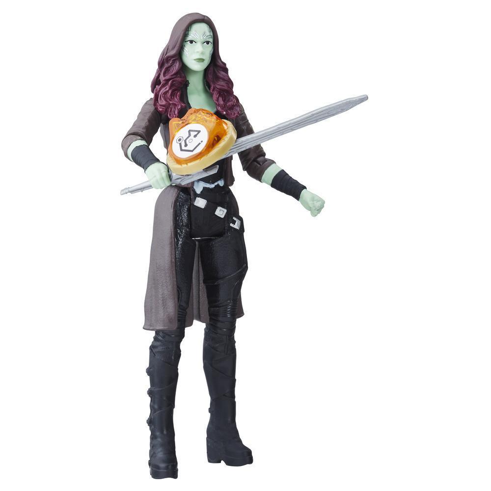 Marvel Avengers: Guerra del Infinito -  Gamora con Gema del Infinito