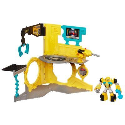 Playskool Heroes Transformers RescueBots Estación de Bumblebee