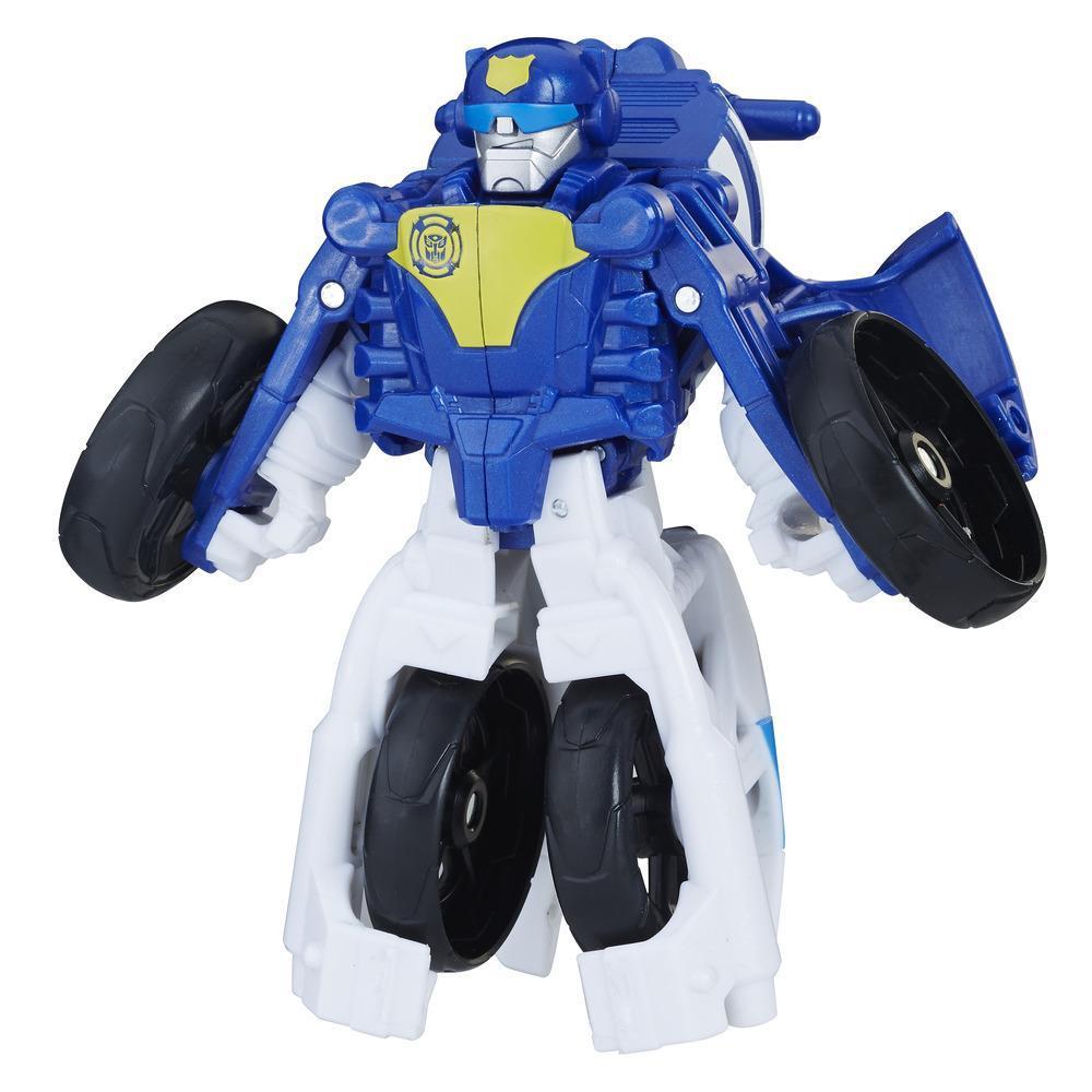 Playskool Heroes Transformers Rescue Bots - Chase el robot policía