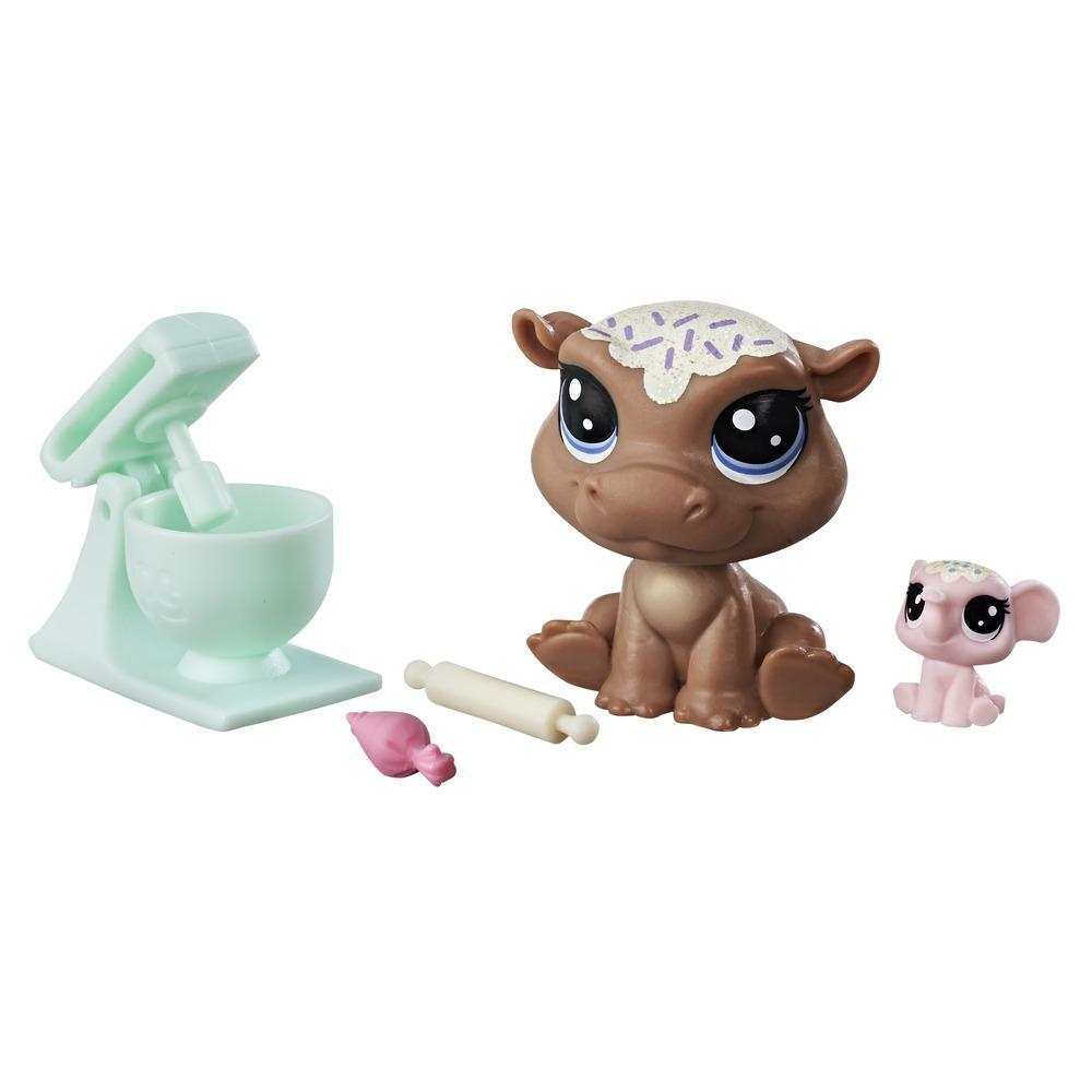 Littlest Pet Shop Cookie Hippomont & Sugarplum Elletrunk