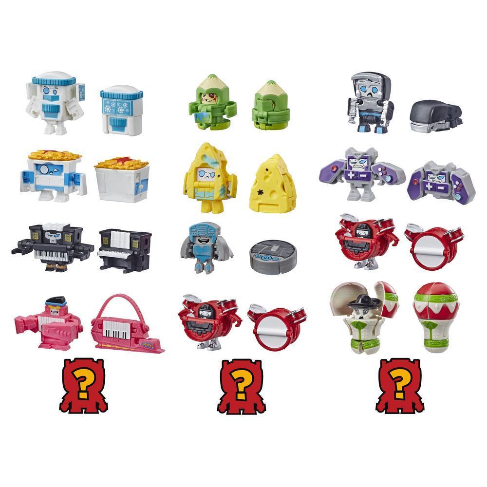 Transformers Toys BotBots Serie 2 - Empaque de 5 figuras Music Mob - ¡Figuras coleccionables! Para niños de 5 años en adelante (los estilos y colores pueden variar) de Hasbro.