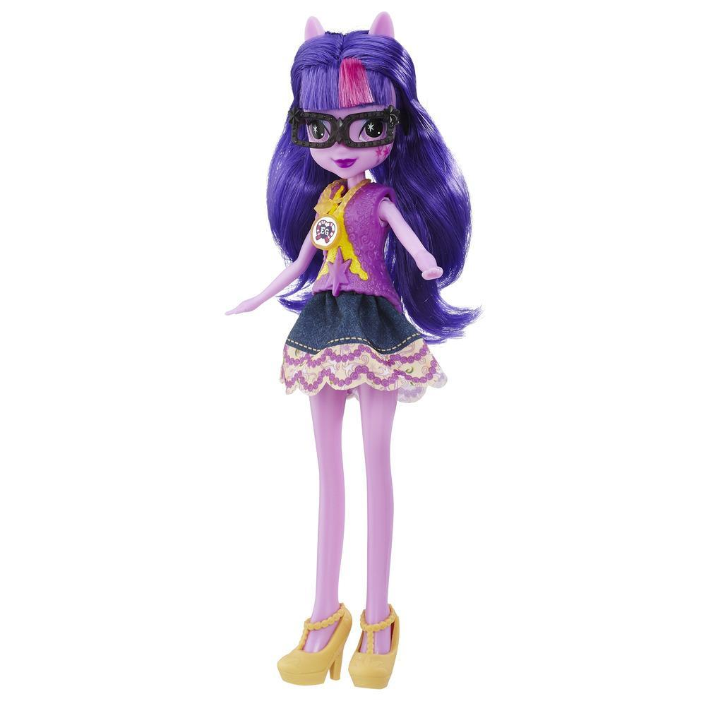 My Little Pony Equestria Girls Legend of Everfree - Muñeca de Twilight Sparkle