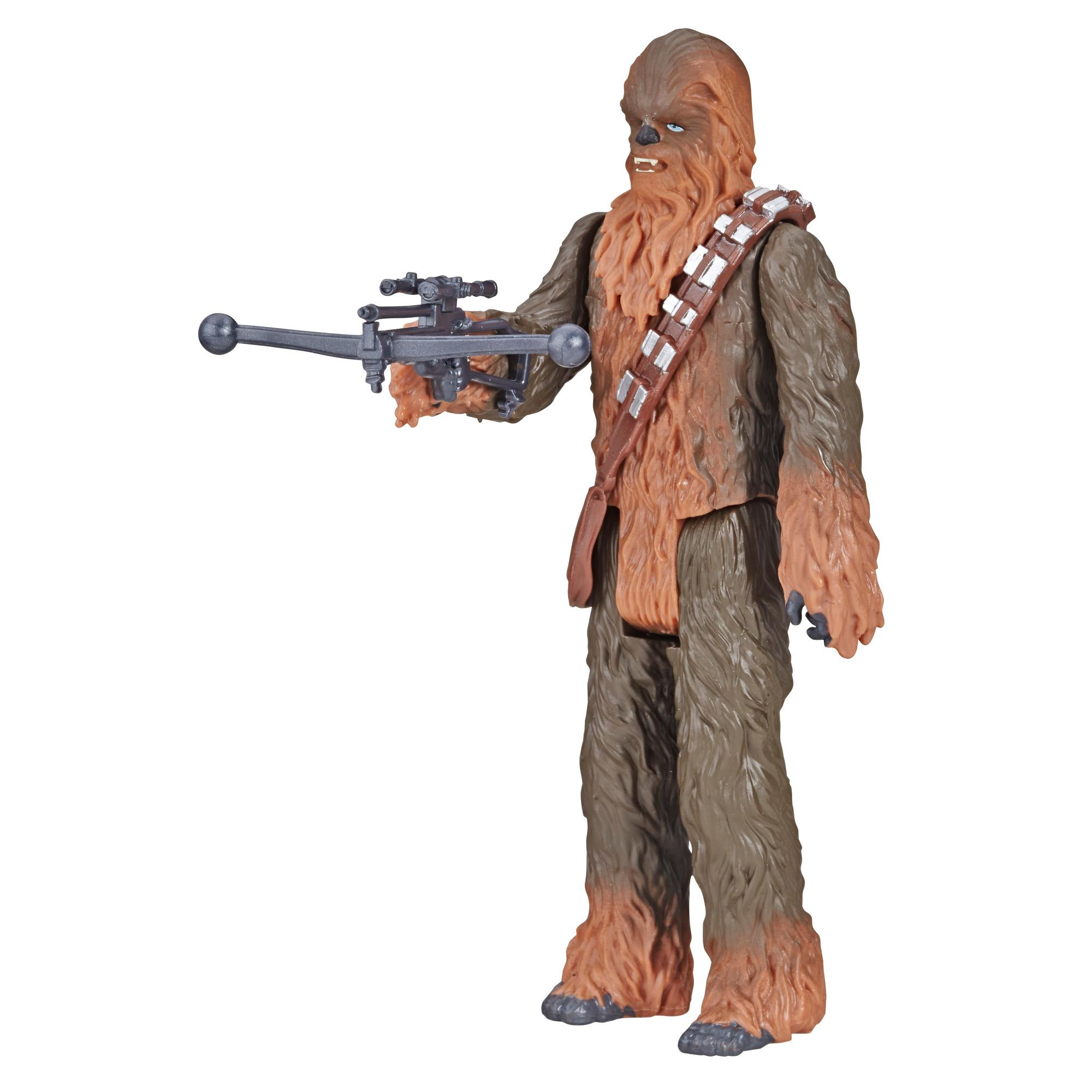 Star Wars Galaxy of Adventures - Figura de Chewbacca y minihistorieta