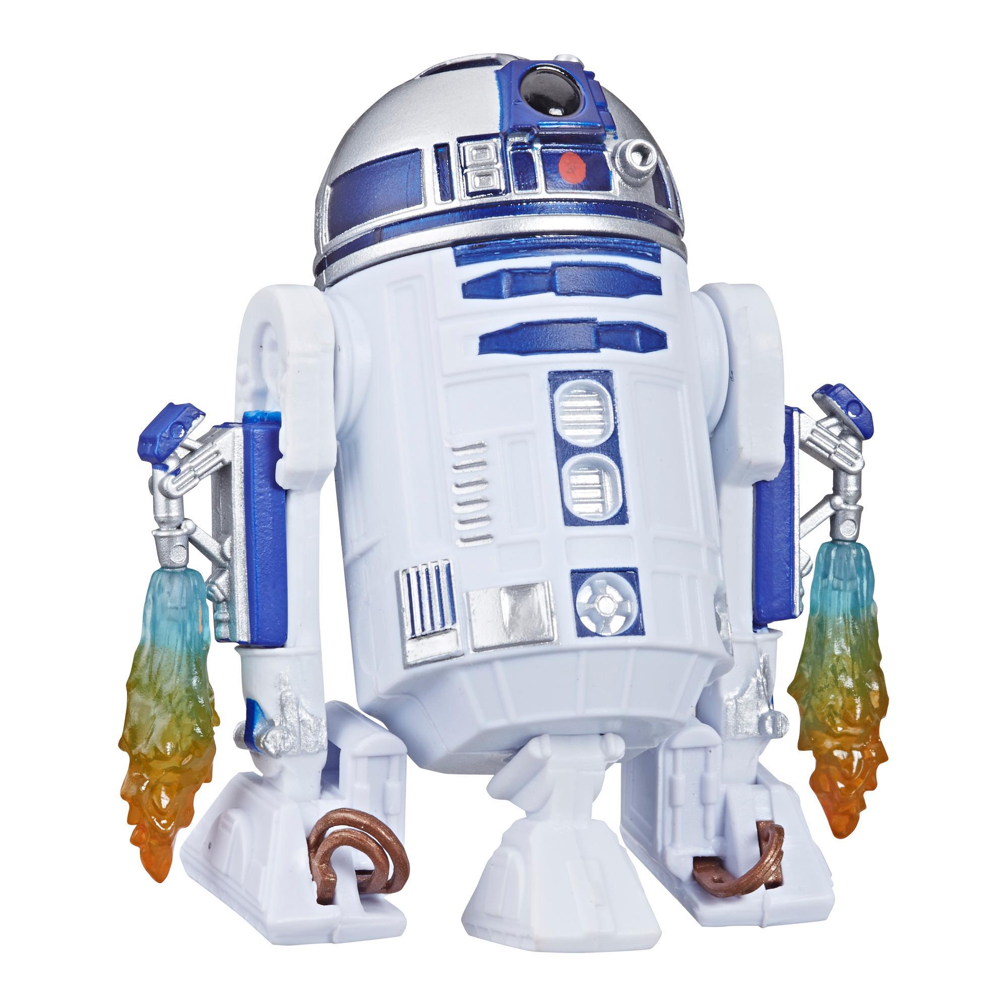 Star Wars Galaxy of Adventures - Figura de R2-D2 y minihistorieta