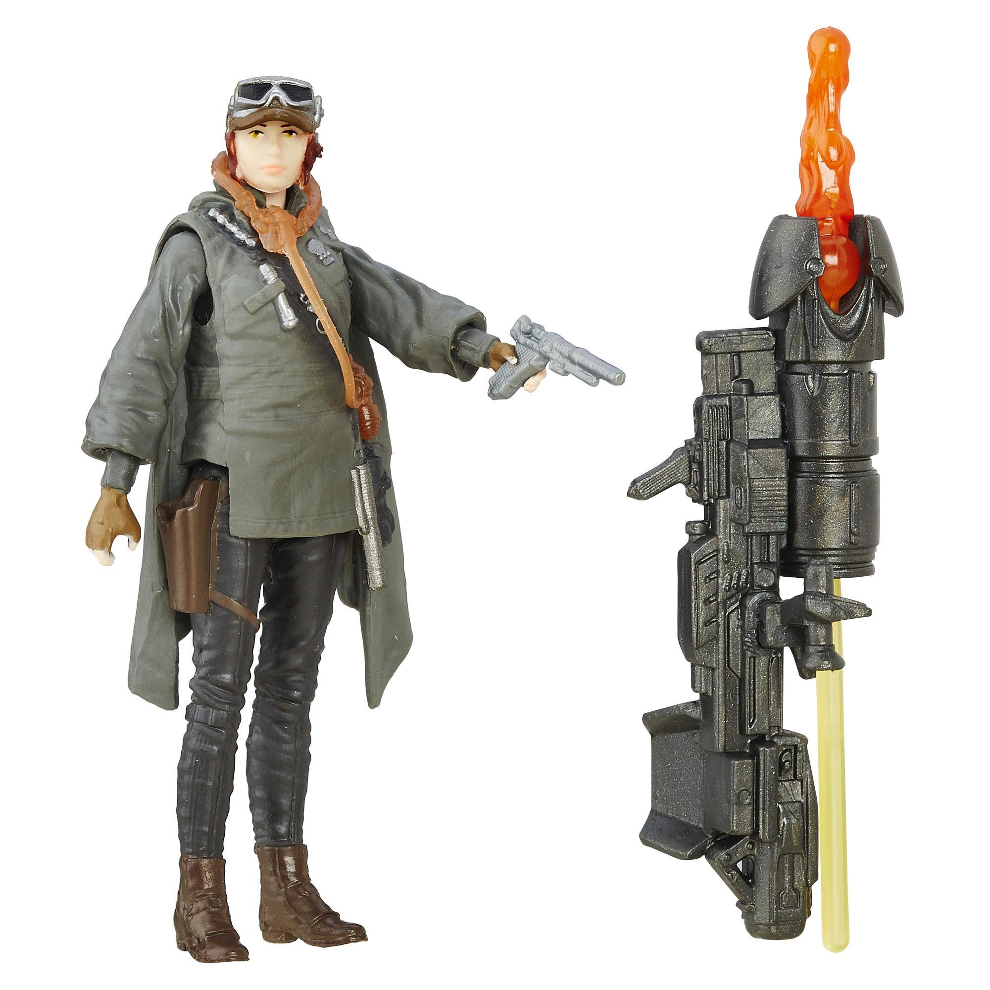 Star Wars Rogue One - Figura de la sargento Jyn Erso