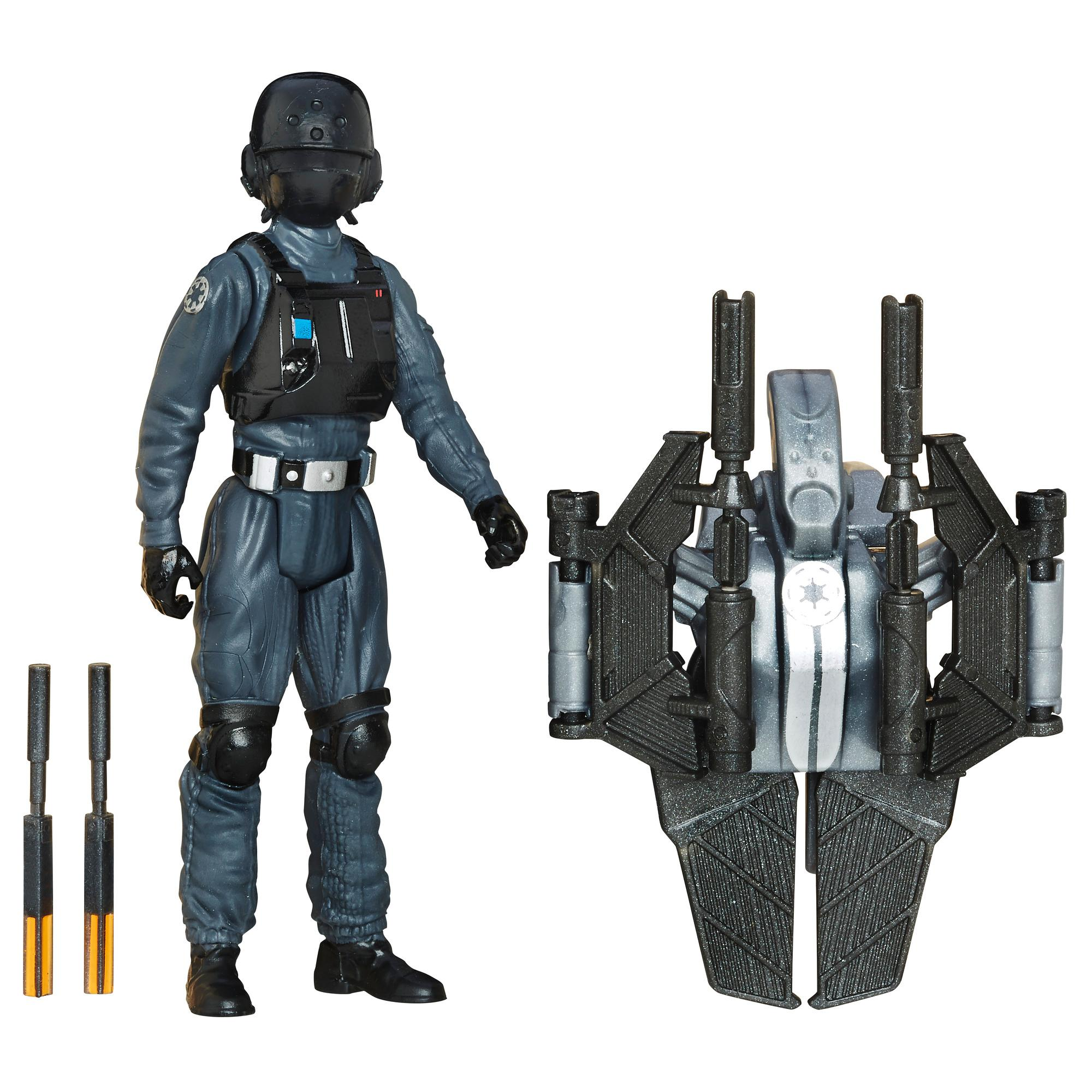 Star Wars Rogue One - Figura de personal de tierra imperial