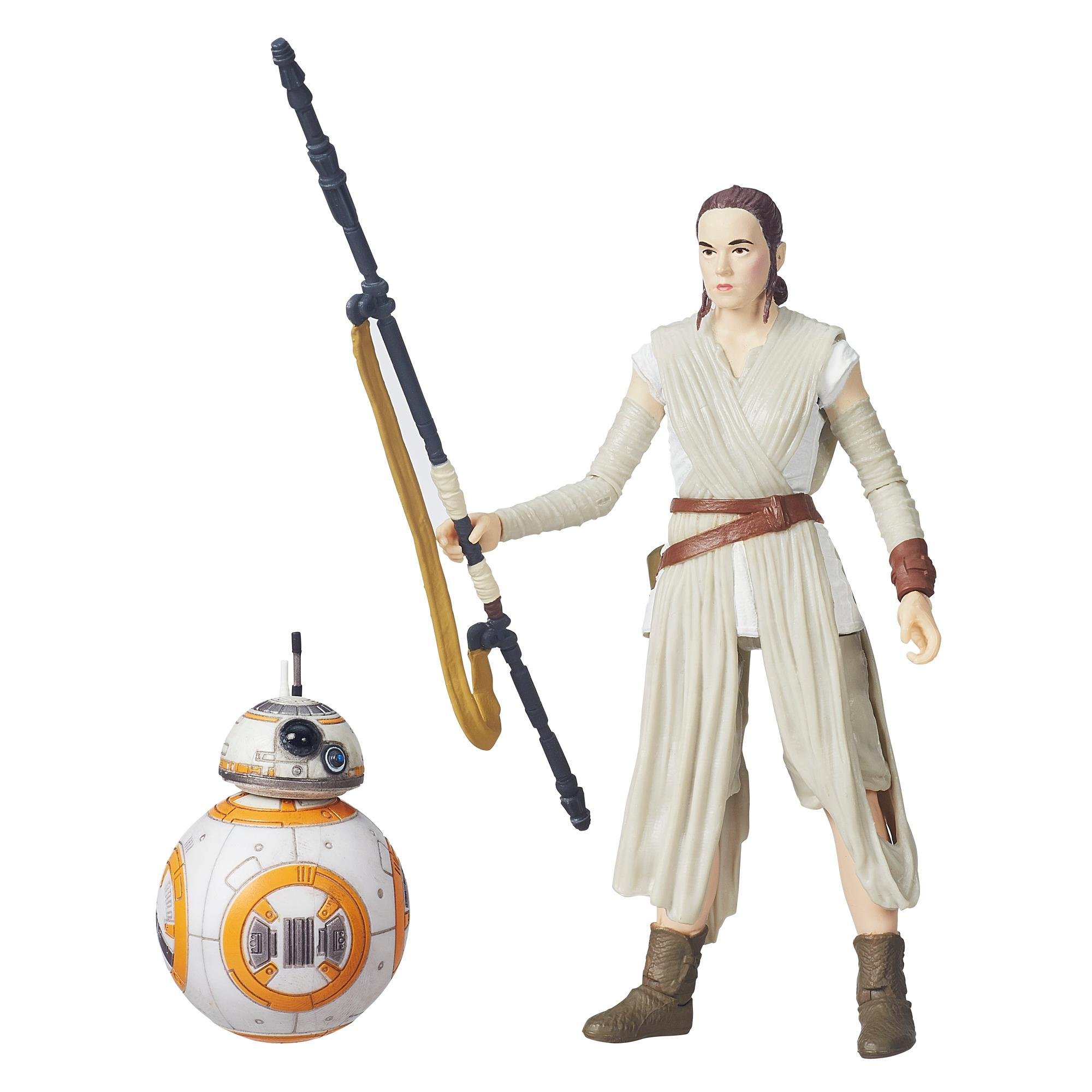 Star Wars The Black Series Rey (Jakku) y BB-8 de 15 cm (6 in)