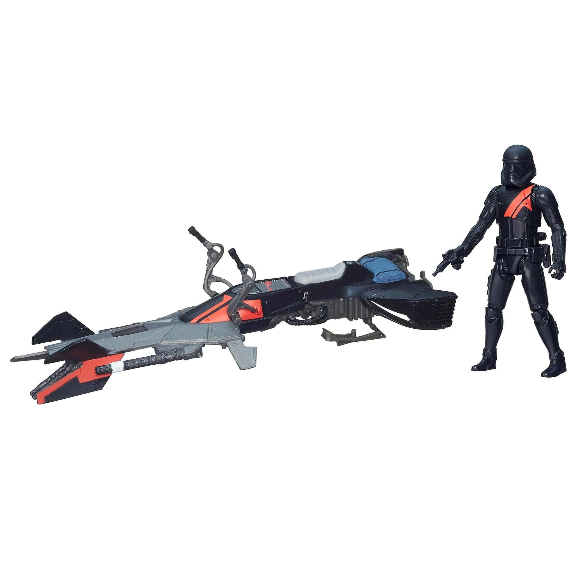 Star Wars The Force Awakens Vehículo de 9,50 cm (3,75 in) Moto deslizadora de Elite