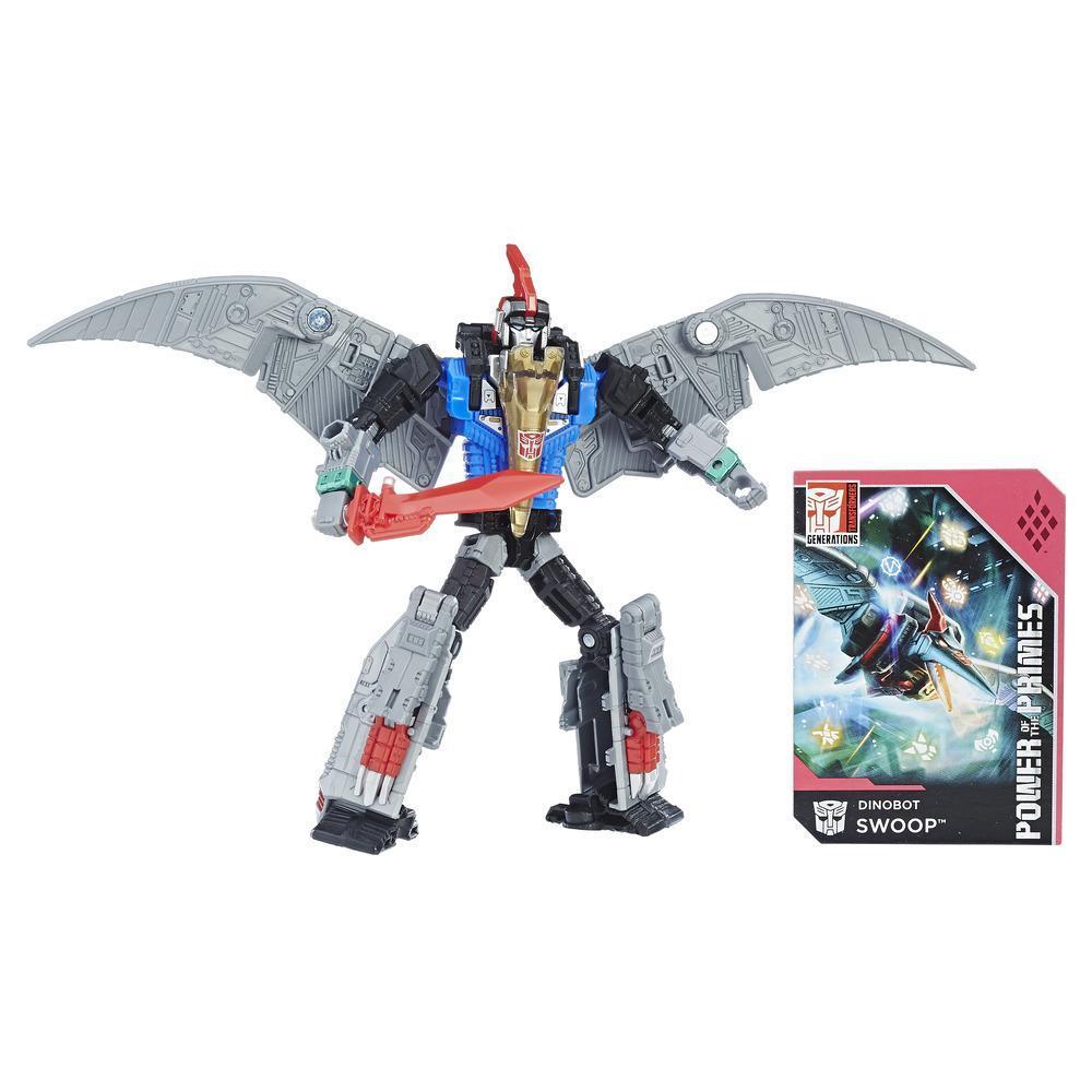Transformers: Generations -  Poder de los Primes - clase de lujo - Dinobot Swoop