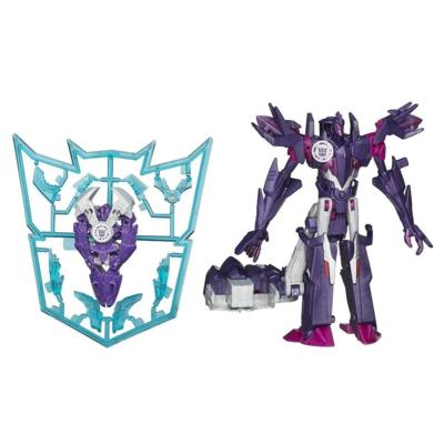Figuras de Mini-Con Deployers Decepticon Fracture y Airazor Transformers Robots in Disguise