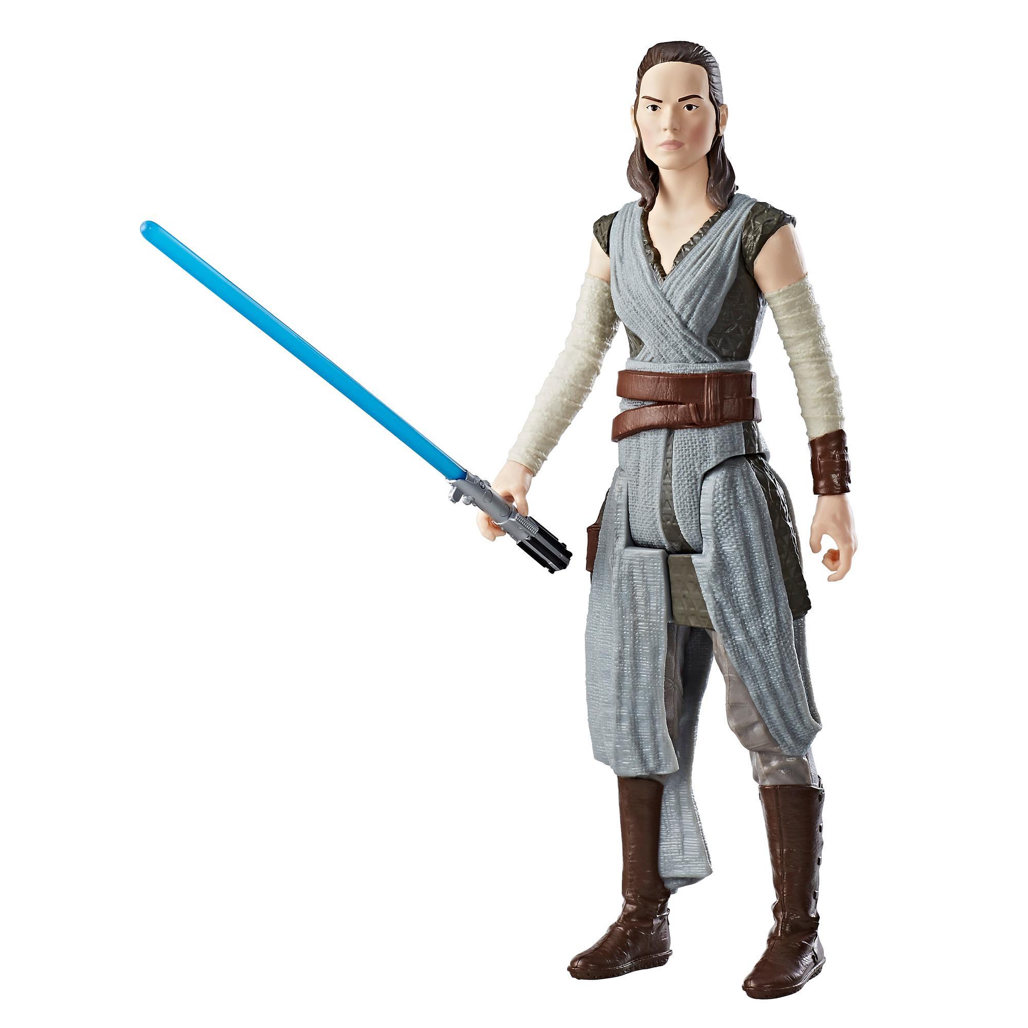 Star Wars: Los últimos Jedi - Rey (Entrenamiento Jedi) - Figura de 30 cm