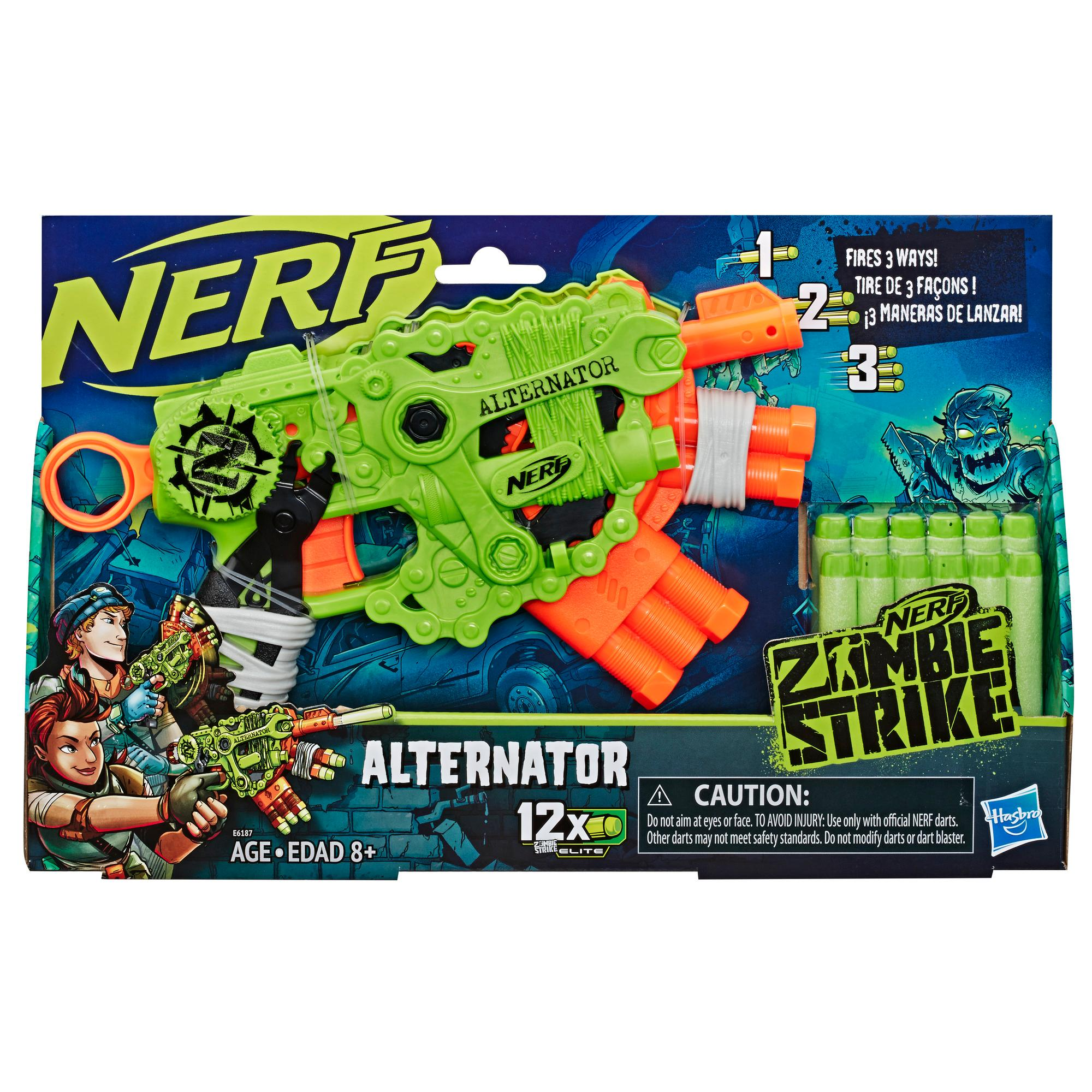 Nerf Zombie Strike - Lanzador Alternator