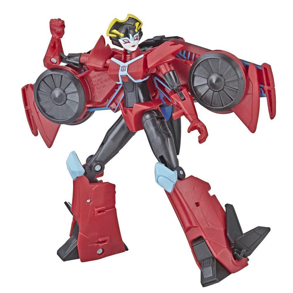 Transformers Cyberverse - Windblade clase guerrero
