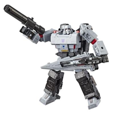 Transformers Generations War for Cybertron: Siege - Figura de acción WFC-S12 Megatron clase viajero