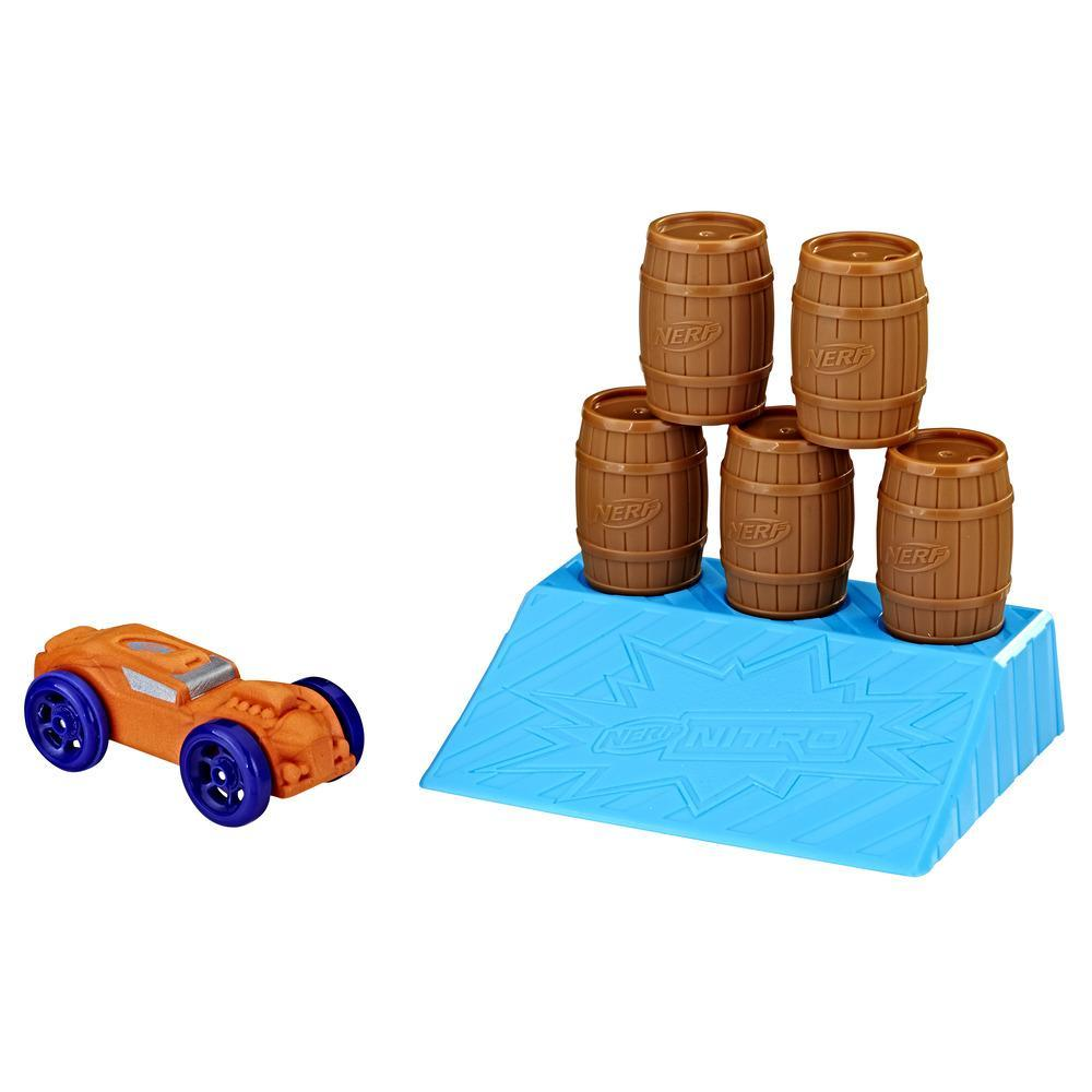 Nerf Nitro - Set de acrobacias Barrel Knockout