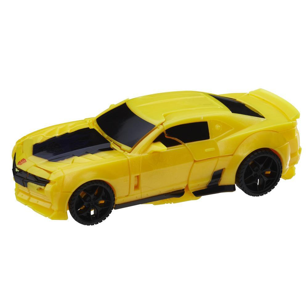 Transformers: The Last Knight - Turbo Changer Bumblebee de 1 paso