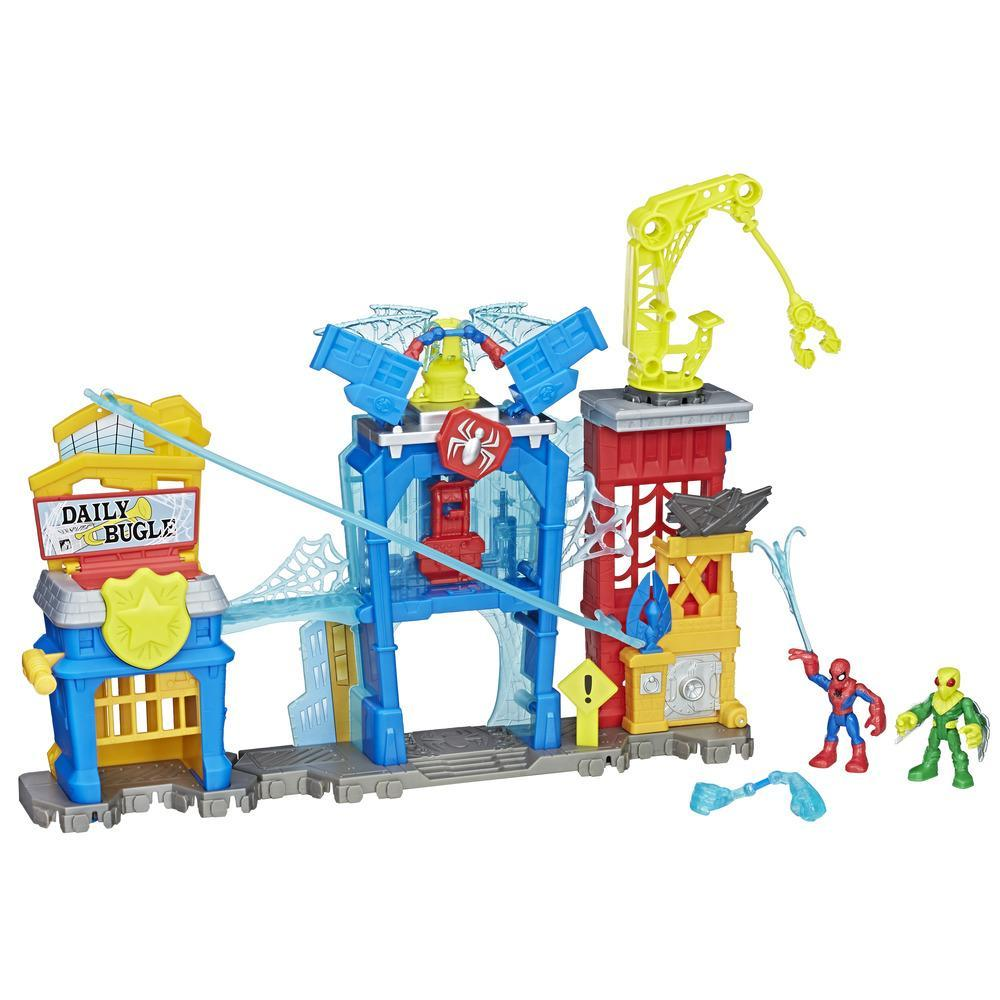 Playskool Heroes Marvel Super Hero Adventures - Aracno-base de Spider-Man