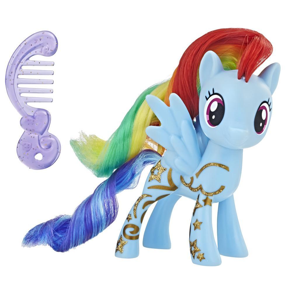 My Little Pony Rainbow Dash con diseño brillante